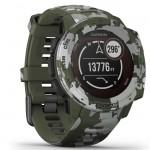 Garmin Ρολόι Instinct Solar Lichen Camo GPS - Αθλητικό Smartwatch Activity Tracker