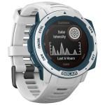 Garmin Ρολόι Instinct Solar Surf Cloudbreak - Smartwatch Άσπρο / Μπλε