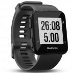 Garmin Ρολόι Forerunner 30 Slate Grey - Αθλητικό Smartwatch GPS Γκρι
