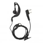 HandsFree Ακουστικά με Διπλό Καρφί για Baofeng & Ασύρματους Πομποδέκτες Walkie Talkie VHF UHF Double Pin