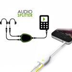 Headphone Splitter Ακουστικών 3,5 σε 3,5mm για να ακούτε μουσική μαζί με τους φίλους σας