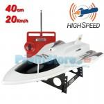 High Speed Ταχύπλοο Τηλεκατευθυνόμενο Σκάφος Επαναφορτιζόμενο 2 Κινητήρων 3 Kαναλιών 40εκ