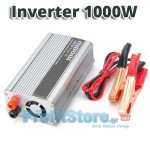 Inverter Αυτοκινήτου 1000 Watt 12V σε 220V