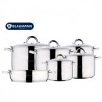 Jumbo Σετ Μαγειρικά Σκεύη 11 Τεμαχίων Gourmet line της Blaumann BL-3114