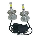 LED COB Φώτα Αυτοκινήτου Η7 6000Κ  40W 5000LM CAN BUS OEM