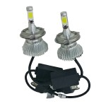 LED COB Φώτα Αυτοκινήτου Η4 6000Κ  40W 4800LM CAN BUS OEM