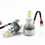 LED COB Φώτα Αυτοκινήτου Η1 6000Κ 36W 4500LM CAN BUS OEM