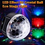 LED Effect Φωτορυθμικό DJ Disco Party Crystal Ball - Eco Stage Light