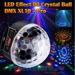 LED Effect Φωτορυθμικό DJ Disco Party Crystal Ball -  DMX XL10 Pro OEM