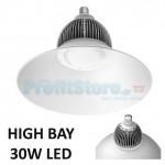Φωτιστικό LED Kαμπάνα - High Bay E27 - 30Watt 220v Ψυχρό Λευκό