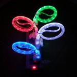 LED Φωτιζόμενο USB Καλώδιο Φόρτισης & Data για iPhone 5