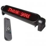 LED Επιγραφή για Οχήματα 12v με τηλεχειριστήριο και προγράμματα