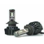LED Φώτα Αυτοκινήτου Η4 T6 6000Κ 60W (2x30W) 6000LM (2x3000LM) CAN BUS