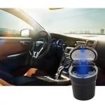LED Φωτιζόμενο Φορητό Σταχτοδοχείο Τασάκι Αυτοκινήτου - Car Ashtray