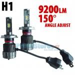 LED Φώτα Αυτοκινήτου H1 150ᵒ Angle Adjust 9200LM (2x4600) 70W (2x35W) CAN BUS 9-24V