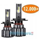 LED Φώτα Αυτοκινήτου NovSight H4 6000K 360ᵒ 12000LM (2x6000) 70W (2x35W) CAN BUS με Ballast 11-30V