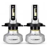 LED Λάμπες Φώτα Αυτοκινήτου NovSight Led A500-N15 H4 6500K 50W 10000Lumens