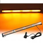 LED Μπάρα Προβολέας Εργασίας Έκτακτης Ανάγκης Πορτοκαλί Φάρος 3000 lumens 12/24v IP67 Οροφής Αυτοκινήτου με 14 Λειτουργίες & Χειριστήριο