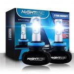 LED Φώτα Αυτοκινήτου NightEye H11 6500K 8000LM (2x4000) 50W (2x25) 12-24V A315 S1 – ΟΕΜ