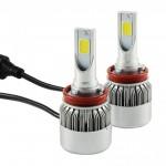LED Φώτα Αυτοκινήτου MAXEED Η11 6000Κ 72W (2x36W) 7600LM (2x3800LM) CAN BUS
