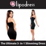 Ελαστικό Φόρεμα Lipodress για λεπτότερη και κομψότερη σιλουέτα.