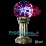 Magic Plasma Light Ball με Διακοσμητική Βάση 18cm