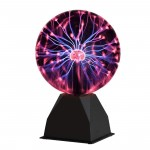 Magic Plasma Light Ball Touch Μαγική Σφαίρα Πλάσματος με Αισθητήρα Αφής & Αναπαραγωγή Μουσικής 10cm