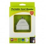 Micro USB Φορητό Card Reader για Smartphone & Tablet