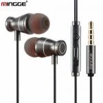 Μαγνητικά Eνσύρματα Ακουστικά με Μικρόφωνο Mingge m12