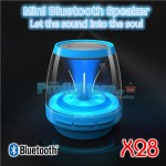Mini LED Bluetooth Multimedia Speaker, MP3 Player, FM Radio, Hands Free Kit XLINK x28
