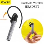 Mini Elegant Bluetooth Ασύρματο Ακουστικό Handsfree Awei® - A831BL- Smart Bussiness Headset