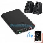 Mini Bluetooth Δέκτης & Πομπός Μετάδοσης - Μετατροπέας Ενσύρματων Συσκευών σε Ασύρματες - Handsfree Ομιλία - Bluetooth Audio Adapter Transceiver