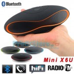 Mini HiFi Bluetooth Multimedia Speaker, MP3 Player, Hands Free Kit X6U