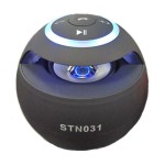 Mini HiFi Bluetooth Multimedia Speaker, MP3 Player, Flashing STN031