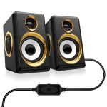 Mini PRIME USB Multimedia Speaker System 3W x 2 - Σετ Ηχείων Υπολογιστή
