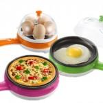 Mini Ηλεκτρικό Πολυλειτουργικό Τηγάνι και Βραστήρας Αυγών