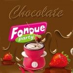 Mini Σοκολατιέρα – Fondue με Αξεσουάρ Σερβιρίσματος