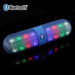 Mini Φορητό Bluetooth Ηχείο USB/SD/AUX FM Radio Multimedia Player KINGWON BT808 LED