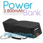 Mini Universal USB φορτιστής Smartphones & Tablets - PowerBank 3800mAh