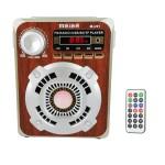 Mini Τηλεχειριζόμενο HiFi Ηχείο Ραδιόφωνο USB/SD MP3 - Multimedia Speaker MEIER M-U91