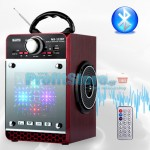 Mini Ηχοσύστημα Bluetooth 16W USB/SD/AUX Multimedia Player KINGWON MS-122BT