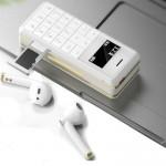 Mini Κινητό Τηλέφωνο SIM & Bluetooth με Ασύρματα Ακουστικά Handsfree - Mini CellPhone