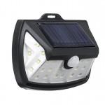 Mini Αδιάβροχο Ηλιακό Φωτιστικό Δρόμου 20W με 28 LED και Ενσωματωμένο Ηλιακό Συλλέκτη Solar Panel Εξωτερικού Χώρου & Ανιχνευτή Κίνησης