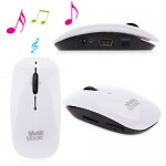 Mini Portable MP3 Player Micro SD - Music Mouse LinkWin - MM16G