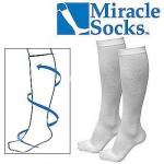 Miracle Socks Κάλτσες Διαβαθμισμένης Συμπίεσης για Ανακούφιση από Πόνους & Πρηξίματα