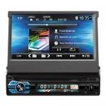 Multimedia Οθόνη Αφής 1 DIN 7in Bluetooth Handfree Ηχοσύστημα Αυτοκινήτου MP4/MP3/USB/SD/AUX/MIC/TV με Τηλεχειριστήριο & Θύρα για Κάμερα Parking