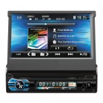 Multimedia Οθόνη Αφής GPS 1 DIN 7in Bluetooth Handfree Ηχοσύστημα Αυτοκινήτου MP4/MP3/USB/SD/AUX/MIC/TV με Τηλεχειριστήριο & Θύρα για Κάμερα Parking