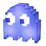 Pac Man Ghost Light Φωτιστικό με 16 Εναλλαγές Χρωμάτων USB Μπλε