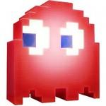 Pac Man Ghost Light Φωτιστικό με 16 Εναλλαγές Χρωμάτων USB Κόκκινο