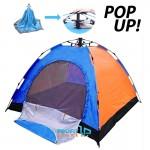 Pack & Go I - Αυτόματη Pop Up Σκηνή για Camping 4 ατόμων Καλοκαιρινή - Sun Shade 2,1x2,1x1,45m
